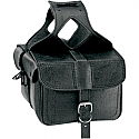 ALL AMERICAN RIDER SADDLEBAG FLAP OVER MEDIUM PLAIN BLACK