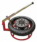 TYRE HOLDER AND BEAD BREAKER (PORTABLE)