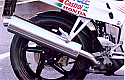 "HONDA VFR750F, FR to FV 94-97 MODELS 4-1 SYSTEM ROAD IN 5"" POLISHED STAINLESS"