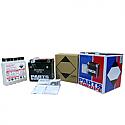 KTM EXC125, EXC200, EXC250, EXC300, EXC400, EXC450, EXC520, EXC530, EXC-F250, MXC400, MXC520 1999-2013 BATTERY AGM MAINTENANCE FREE 12V 4 AH 80A 1.6 KG 114.3 MM X 71.44 MM X 106.36 MM BLACK (YTX5L-BS)