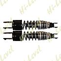 HONDA CB250N, CB400N, CB250T, CB400T SHOCKS 327MM FORK+FORK CHROME (PAIR)