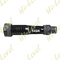 SPARK PLUG CAP SD05F NGK WITH BLACK BODY FITS THREADED TERMINAL
