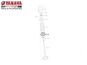5EB121260000, SEAT, VALVE SPRING 2, Yamaha