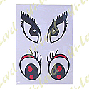 CARTOON EYES STICKERS (1 SET)