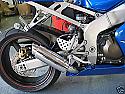 Kawasaki ZX6R 636 2003-2005 Predator GP Silencer New
