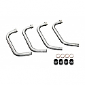 YAMAHA XJR1300 04-06 DOWNPIPES STAINLESS STEEL