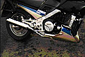 FJ1100 YAMAHA ALL 1984-1985 MODELS 4-2 EXHAUST SYSTEM ROAD LEGAL