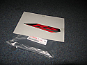 Yamaha YZF-R6 R6 (13s) Graphic Red/Silver Genuine New