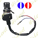 IGNITION SWITCH UNIVERSAL 2 WIRE HELD ON WITH NUT