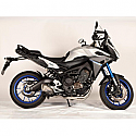 YAMAHA MT-09, MT-09 ABS, MT-09 ABS STREET RALLY, MT-09 ABS TRACER, MT-09 ABS SPORT TRACKER 2014-2016 FORCE FULL SYSTEM TITANIUM MUFFLER & S/S HEADER