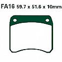 PFA016 PREDATOR DISC BRAKE PADS STD ORGANIC
