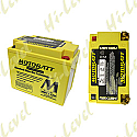 MOTOBATT BATTERY MBTX12U FULLY SEALED CTX12-BS, CB12BB-2, CTX15L-BS