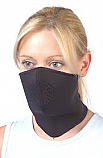 NEOPRENE REVERSIBLE STANDARD FACE MASK (BLACK/GRAY)
