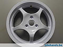 YAMAHA YQ50 AEROX REAR WHEEL (silver)