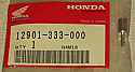 12901-333-000 VALVE --- VALVE, OIL CONTROL ORIFICE