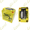 MOTOBATT BATTERY MB10U FULLY SEALED CB10LA-2, CB10L-B2, 12N10, 12N11 (4)