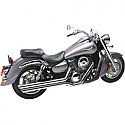 KAWASAKI VN1600 VULCAN CLASSIC 2003-2008 EXHAUST BIG SHOTS STAGGERED