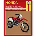 HONDA CRF250, HONDA CRF450 2002-2006 WORKSHOP MANUAL