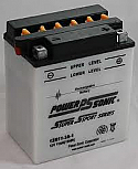 MOTORCYCLE BATTERY 12N11-3A-1 BUDGET 12V