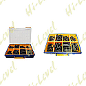 CABLE ASSORTED RUBBER COVERS WHEN MAKING CABLES (8 TYPES)