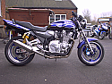YAMAHA XJR1300 (04-07) 4-2 SYSTEM ROAD IN POLISHED STAINLESS