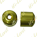 HONDA CBR400RR BAR END COVER GOLD