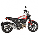 DUCATI SCRAMBLER 803 ABS CLASSIC, SCRAMBLER 803 ABS ICON, SCRAMBLER 803 ABS FULL THROTTLE 2015-2016 EVO V SLIP-ON MUFFLER STAINLESS STEEL
