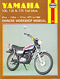 Yamaha DT100 76-83, DT125, MX 73-82, DT175, MX 73-85 WORKSHOP MANUAL