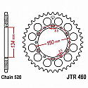 460-50 REAR SPROCKET CARBON STEEL
