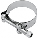 """SUPERTRAPP T-BOLT CLAMP Ø 2.75"""" (69,9mm) STAINLESS STEEL"""