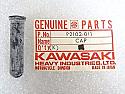 Kawasaki NOS NEW 92102-011 Lever Cap Z1 900 Superbike