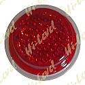 STICK-ON REFLECTOR RED ROUND OD 20MM