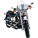 """H/D WINDSHIELD REPLACEMENT HANDLEBAR MOUNT WINDSHIELD REPLACEMENT CLASSIC DEUCE 18 1/2"""" SOLAR"""
