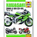 KAWASAKI ZX-6R NINJA FOURS 1995-2002 WORKSHOP MANUAL