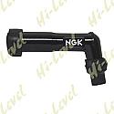 SPARK PLUG CAP XD05F NGK WITH BLACK BODY FITS THREADED TERMINAL