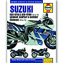 Suzuki GSX-R750,GSX-R1100 (85-92),GSX600F,GSX750F WORKSHOP MANUAL