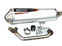 Tecnigas 4 Scoot Exhaust for Honda