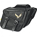 WILLIE & MAX STANDARD BLACK MAGIC SADDLEBAG