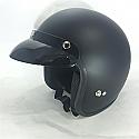 RS04 OPEN FACE MATT BLACK