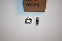 1 NOS YAMAHA MOTORCYCLE THROTTLE CABLE ADJUSTING NUT 90170-10038