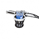 "CIRO3D DRINK HOLDER WITH BAR MOUNT 1.25"" - CHROME"