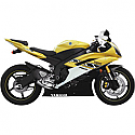 YAMAHA YZF-R6 600, YZF-R6 600S, YZF-R6 600SP 50TH ANNIVERSARY LIMITED EDITION, YZF-R6 600 WGP 50TH ANNIVERSARY 2006-2012 JARDINE SLIP-ON EXHAUST GP-1