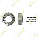 STEERING TAPER BEARING ID 30mm x OD 52mm x THICKNESS 16mm