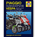 PIAGGIO/ VESPA SFERA,TYPHOON ,ZIP, ET, LX, GT 91-09 WORKSHOP MANUAL