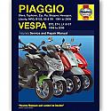 Piaggio (Sfera,Typhoon,Zip,91-09) Vespa (ET,LX/GT WORKSHOP MANUAL