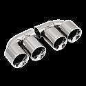 Sidewinder 3 Inch Twin Straight Cut (Pair)