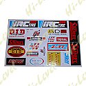 ASSORTED STICKERS SMALL DID, STANLEY, TOTAL, FERODO, DENSO, ADS