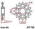 749-15 FRONT SPROCKET CARBON STEEL