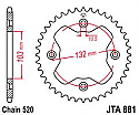 881-38 REAR SPROCKET CARBON STEEL