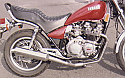 XJ550 Maxim YAMAHA 4-1 EXHAUST SYSTEM ROAD LEGAL
